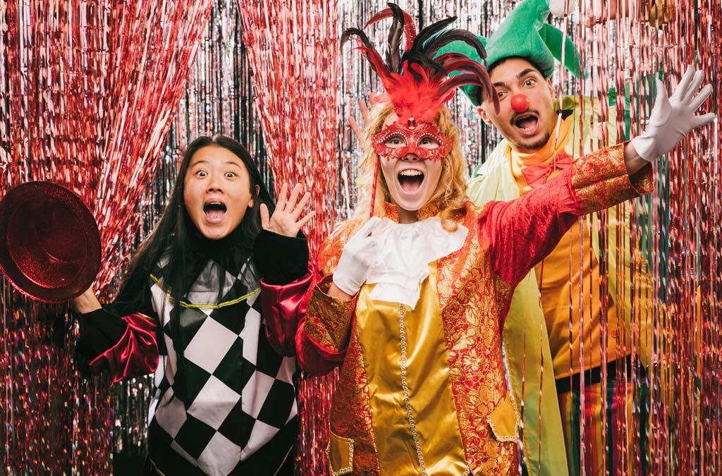 De fotobooth, de ideale carnavalsanimatie om herinneringen levendig te houden