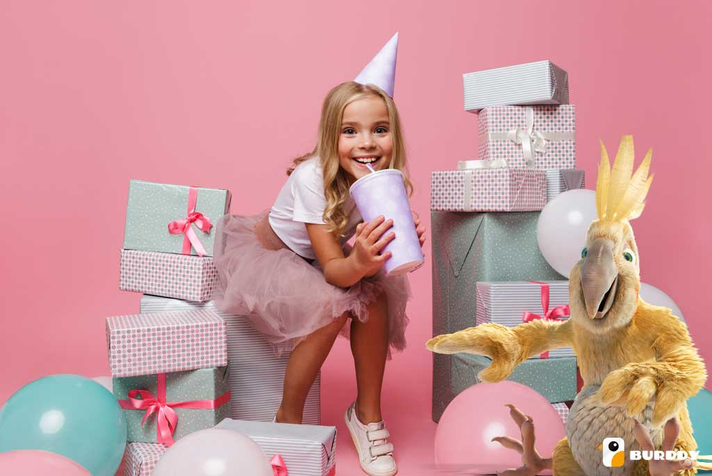 The best birthday ideas for kids are at Burddy's!