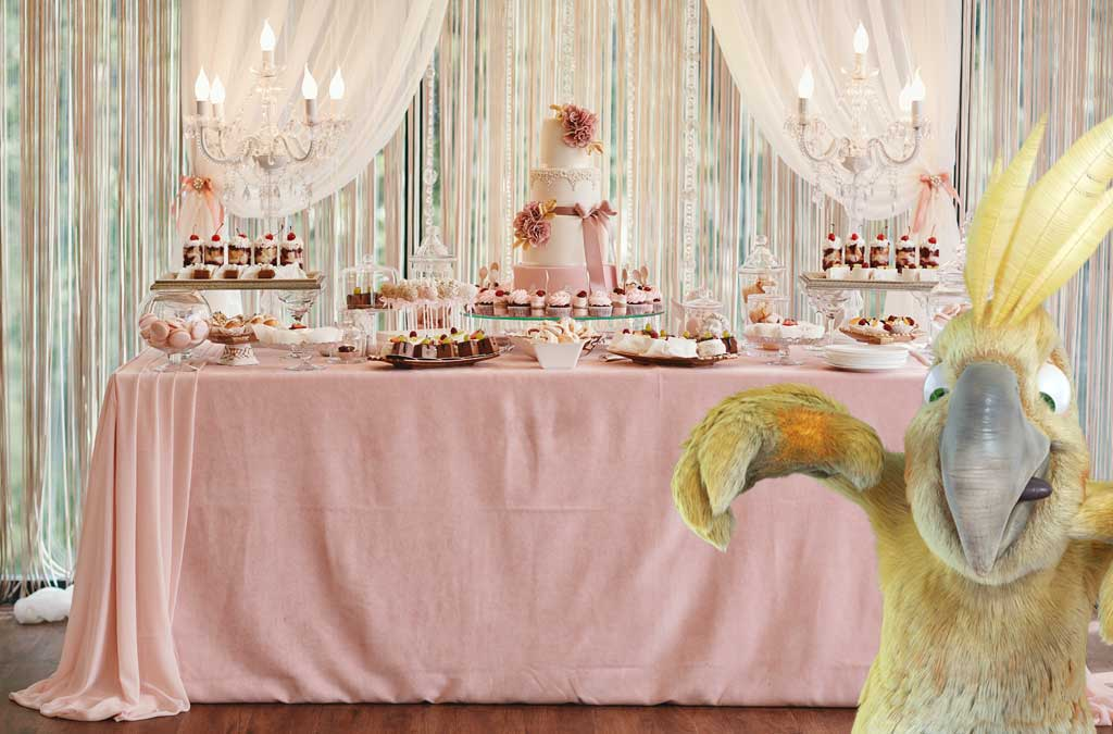 The candy bar, a must for your child's first Communion!