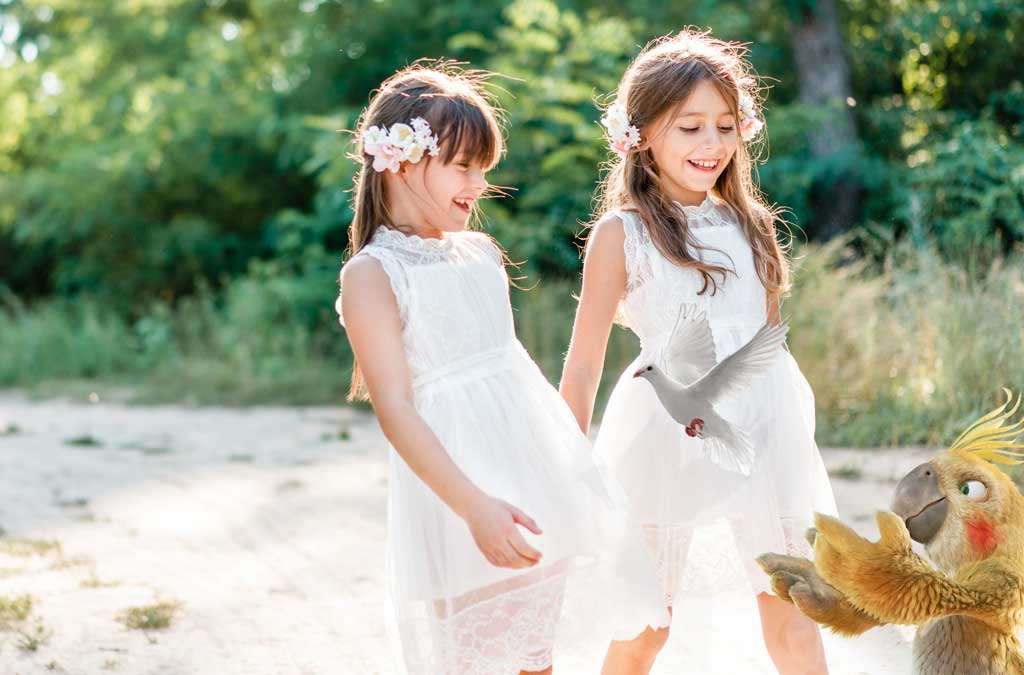 The Burddy photobooth, the ideal accessory to keep unforgettable memories of a first Communion!